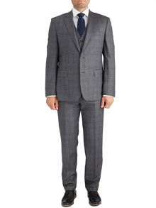 Paul Costelloe Modern Grey Check Suit