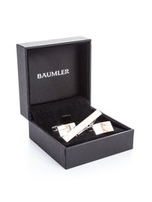 Baumler Mop Cufflinks & Tie Slide Set