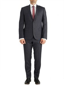 Slim Fit Grey Check Suit
