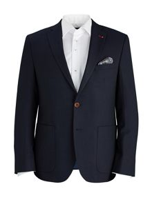 Baumler Tailored Navy Blazer