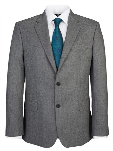 Paul Costelloe Modern Grey Flannel Suit
