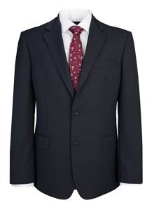 Paul Costelloe Modern Fit Plain Blue Suit Jacket