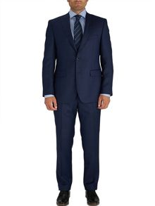 Baumler Tailored Blue Micro Birdseye Suit