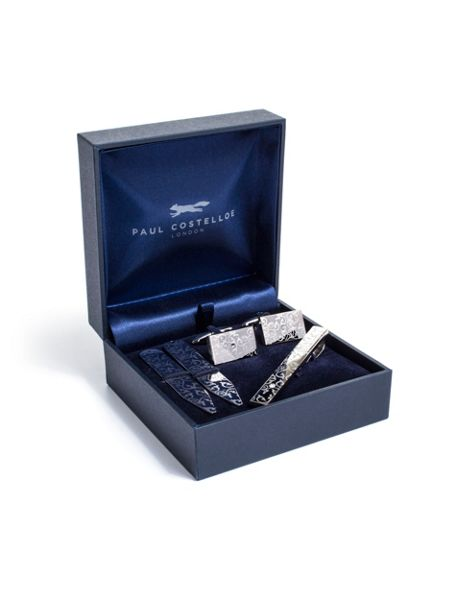 Paul Costelloe Paisley etched gift set