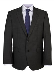 Baumler Tailored Charcoal Pin Dot Suit