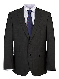 Tailored Charcoal Pin Dot Suit