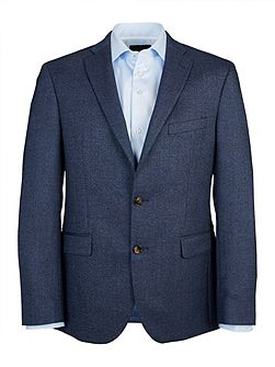 Tailored Blue Semi-Plain Jacket