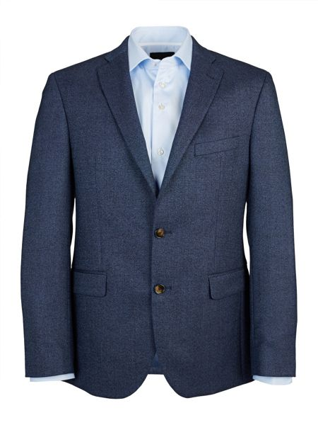 Baumler Tailored Blue Semi-Plain Jacket