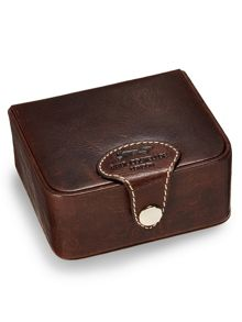 Paul Costelloe Brown cufflink box