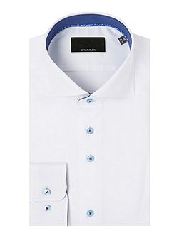 White single cuff shirt