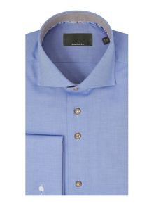 Baumler Light blue double cuff shirt