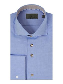 Light blue double cuff shirt