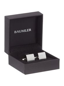 Baumler Herringbone Textured Cufflinks