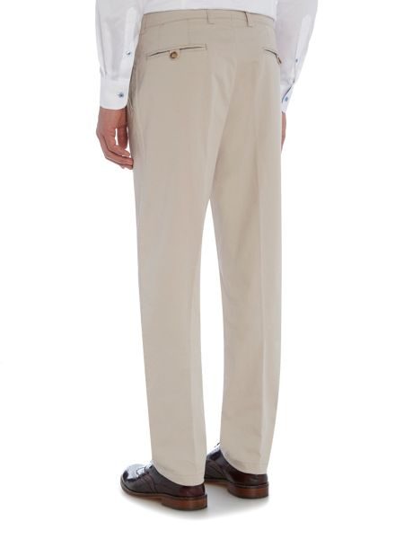 Baumler Fawn cotton trousers