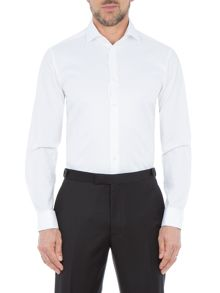 Paul Costelloe Baron Slim-Fit Rib Dress Shirt