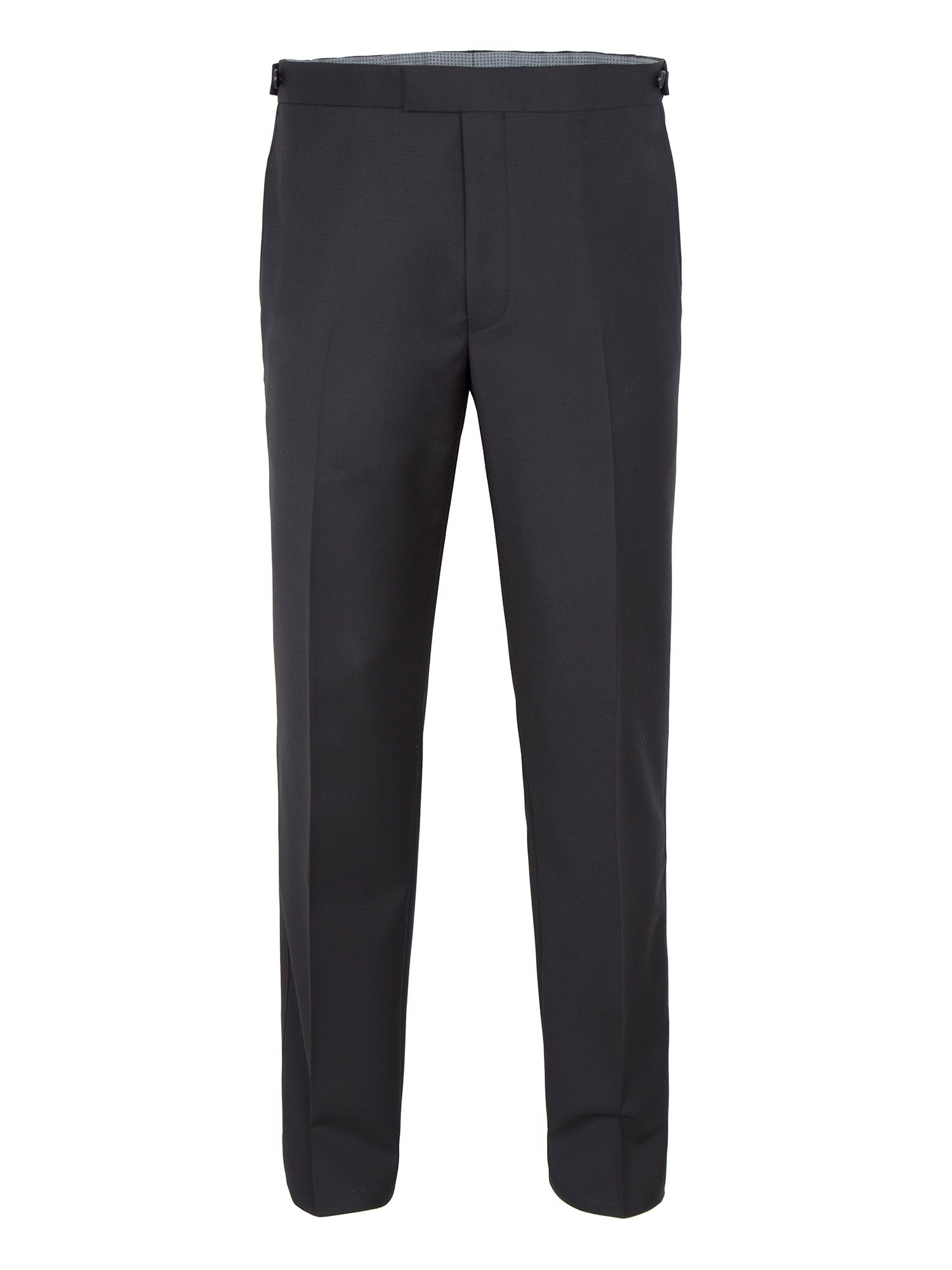 Men's Paul Costelloe Modern fit dinner suit trousers, Black