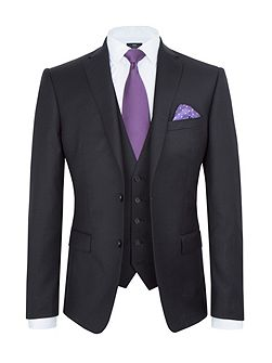 Slim Fit Black Suit Jacket