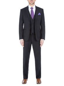 Paul Costelloe Slim Fit Black Suit Jacket