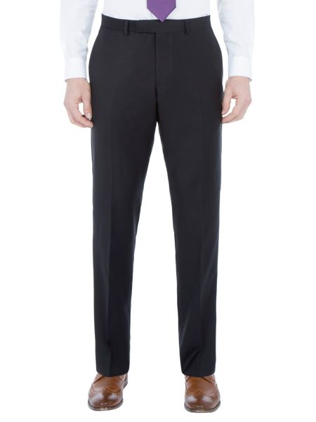 Paul Costelloe Slim fit black suit trousers