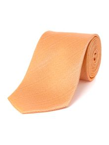 Baumler Orange textured plain tie
