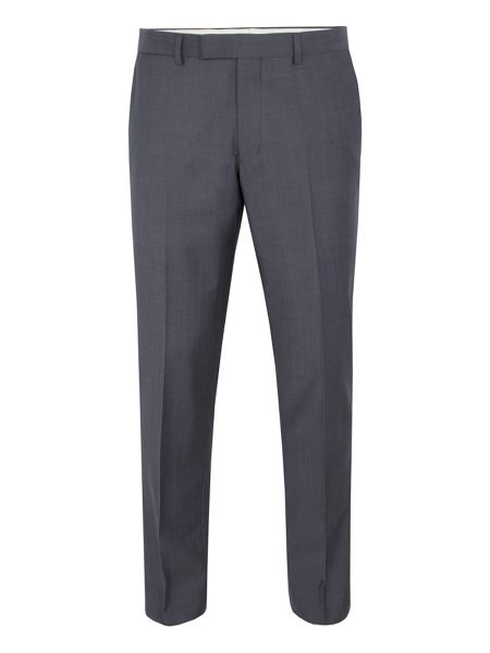 Paul Costelloe Slim fit light grey tonic suit trousers