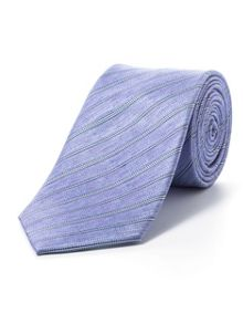 Paul Costelloe Purple pencil stripe tie