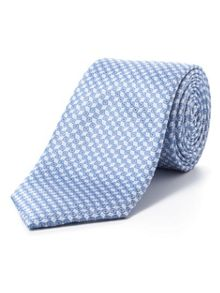 Paul Costelloe Blue diamond geometric tie