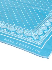 Paul Costelloe Green spot pocket square