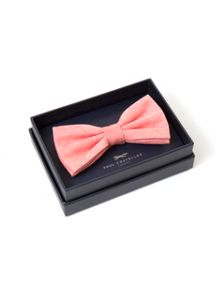 Paul Costelloe Salmon Plain Bow Tie
