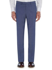 Baumler Slim fit light blue suit trousers