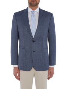 Baumler Light blue basketweave jacket