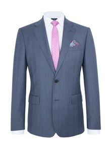 Paul Costelloe Modern Fit Blue Plain Suit Jacket