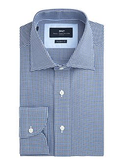 Addle Chevron Check Cotton Shirt