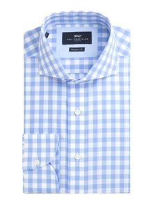 Paul Costelloe Essex Gingham Check Cotton Shirt