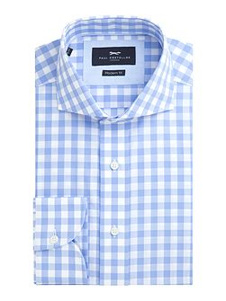 Essex Gingham Check Cotton Shirt