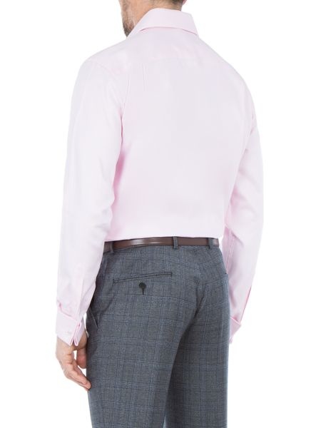 Paul Costelloe Richard Cotton Basketweave Shirt