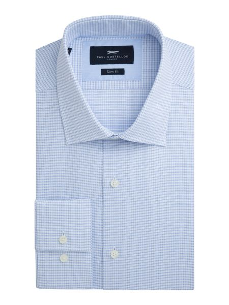 Paul Costelloe Albany Cotton Check Slim-Fit Shirt