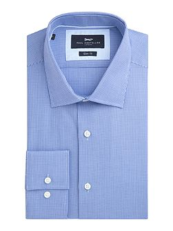 Noble Cotton Dobby Weave Slim-Fit Shirt