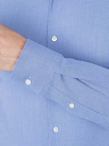 Paul Costelloe Noble Cotton Dobby Weave Slim-Fit Shirt