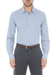 Paul Costelloe Temple Check Cotton Slim-Fit Shirt