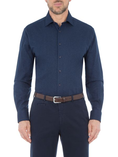 Paul Costelloe Regent Cotton Flannel Tailored Shirt