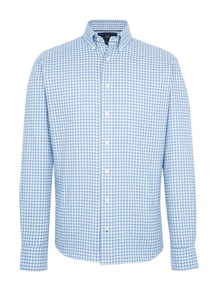 Paul Costelloe Portman Gingham Check Cotton Shirt
