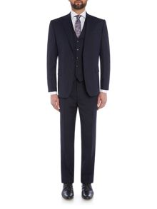Paul Costelloe Modern fit navy three piece suit