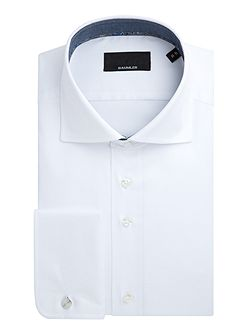 Tobias Cotton Double-Cuff Shirt