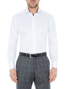 Baumler Tobias Cotton Double-Cuff Shirt