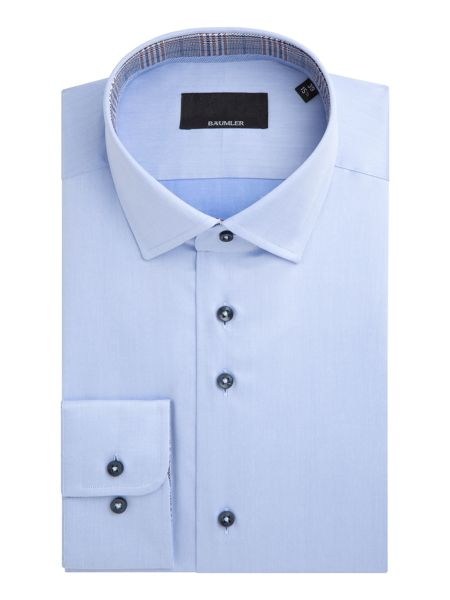 Baumler Stefan Cotton Single-Cuff Shirt