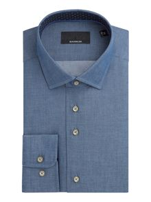 Baumler Jonas Cotton Single-Cuff Shirt