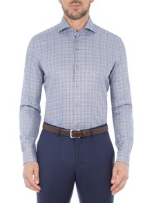Baumler Urs Cotton Check Shirt
