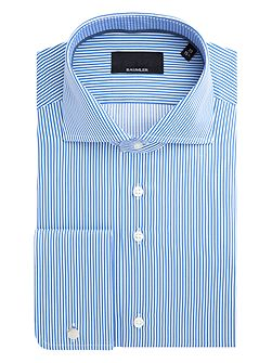 Elmar Bengal Stripe Cotton Shirt