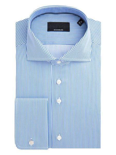 Baumler Elmar Bengal Stripe Cotton Shirt